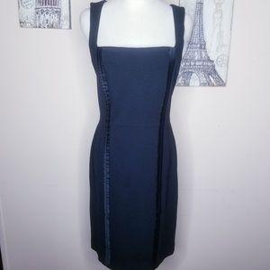 Banana Republic Black Stretch Dress Size 8